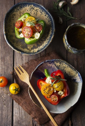 Insalata tiepida di pomodori