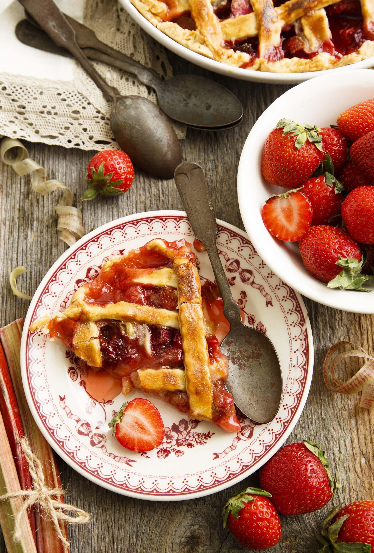 Crostata di fragole e rabarbaro 2