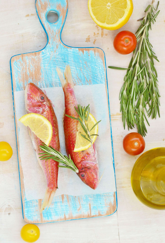 Triglie al forno con pomodorini 1