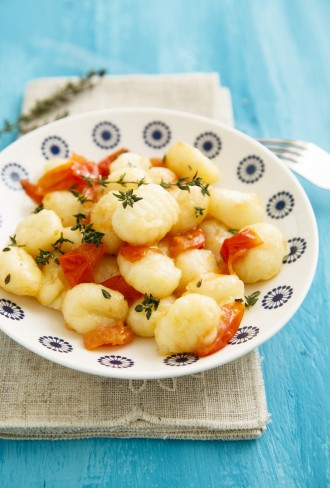 Gnocchi pomodori e timo