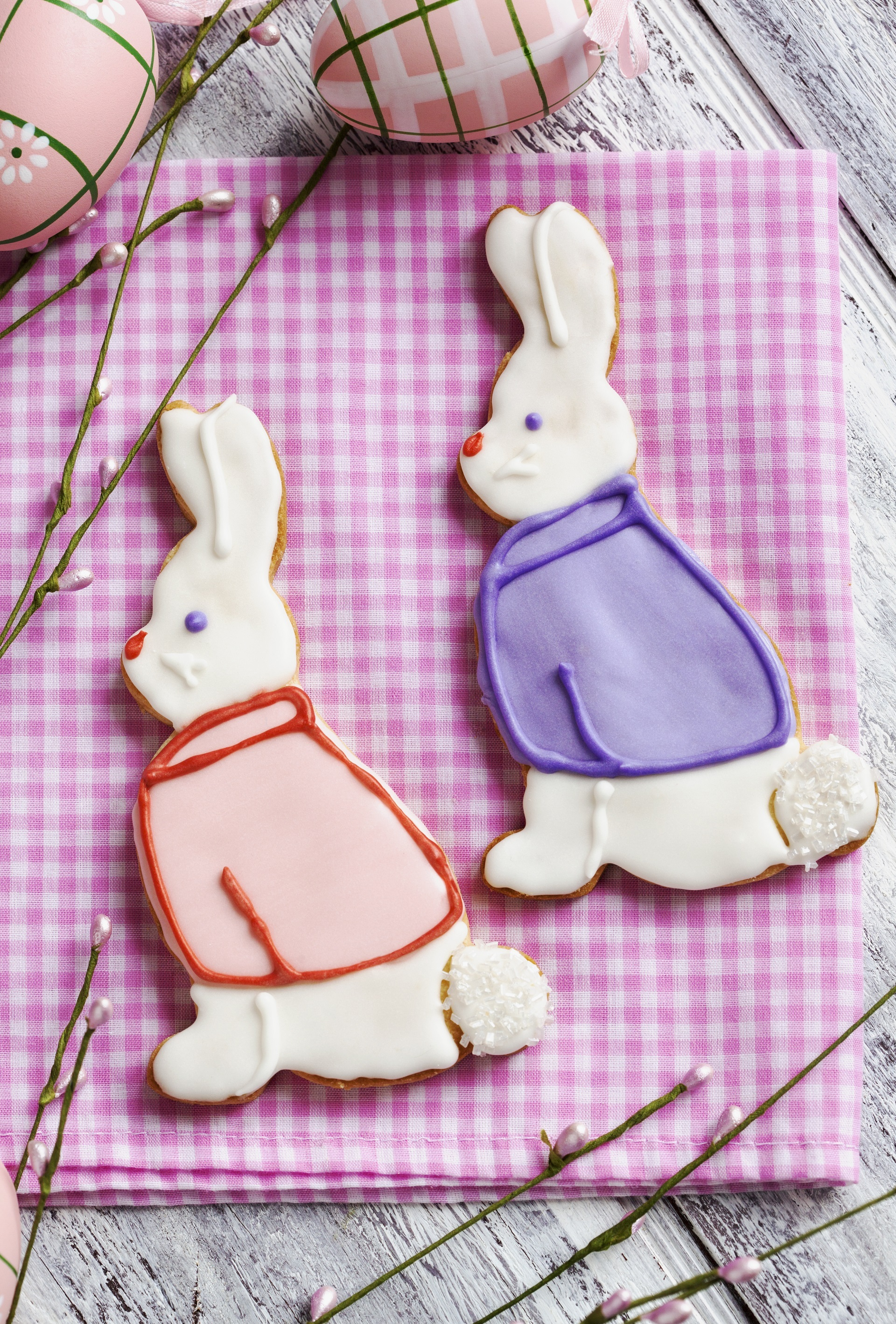 Easter Bunny Cookies 2