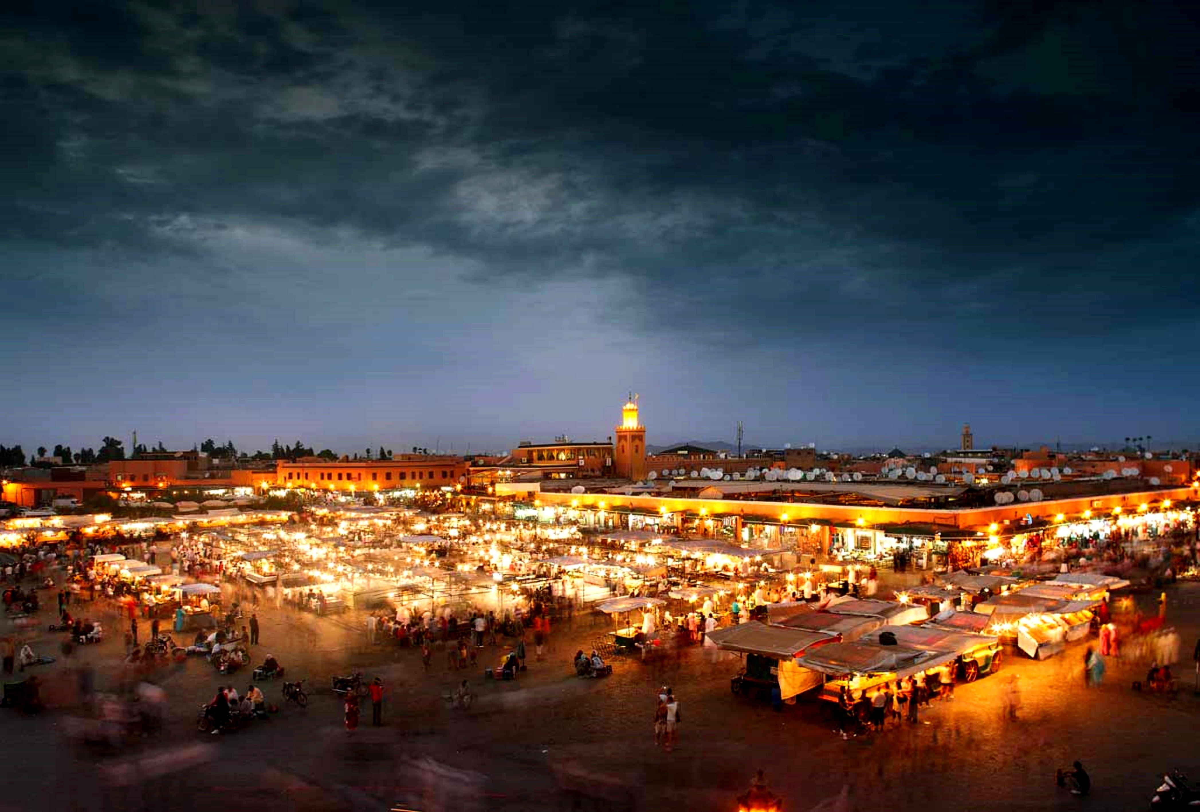 Marrakech - Jāmiʿ el-Fnā