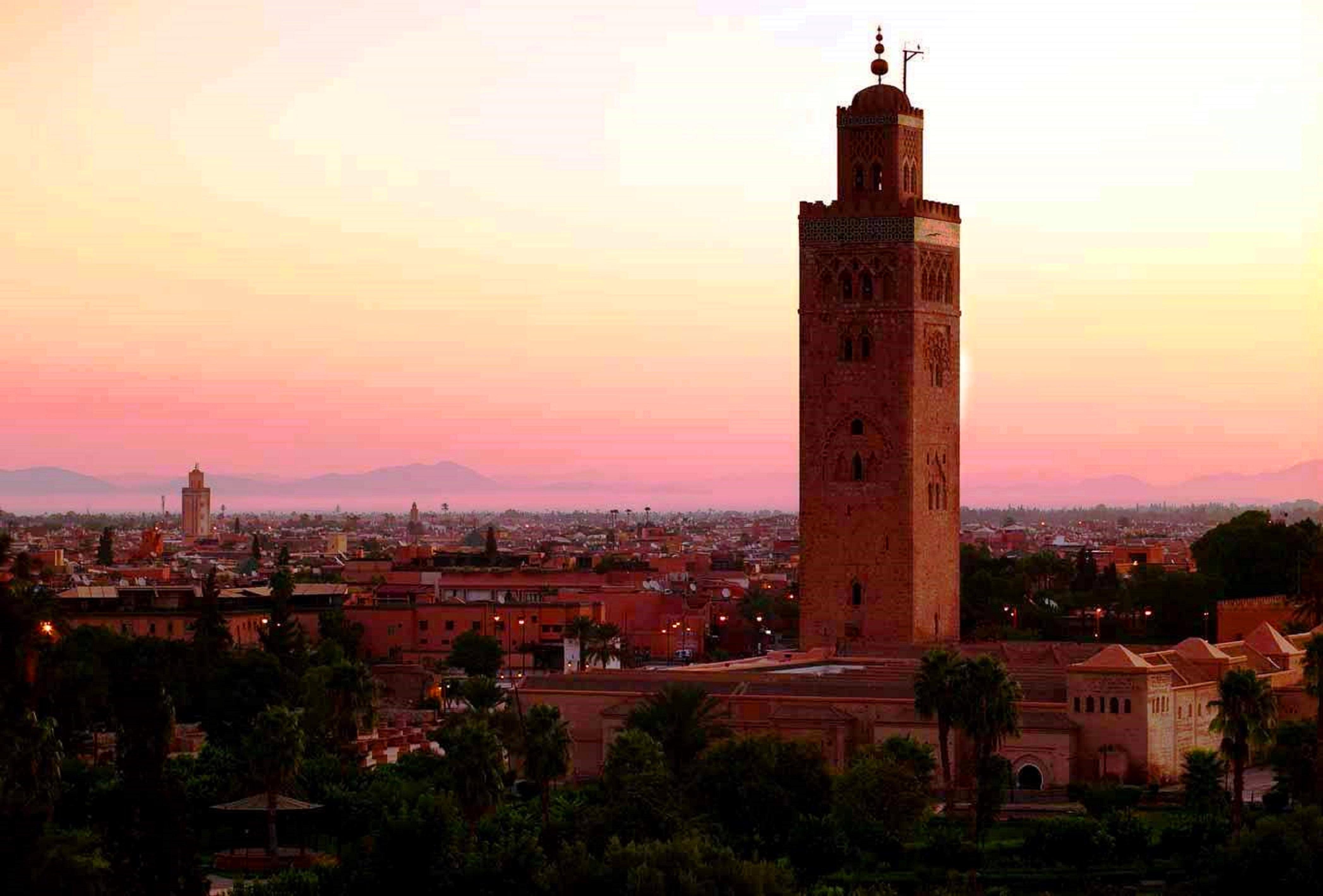 Marrakech - Moschea della Koutoubia