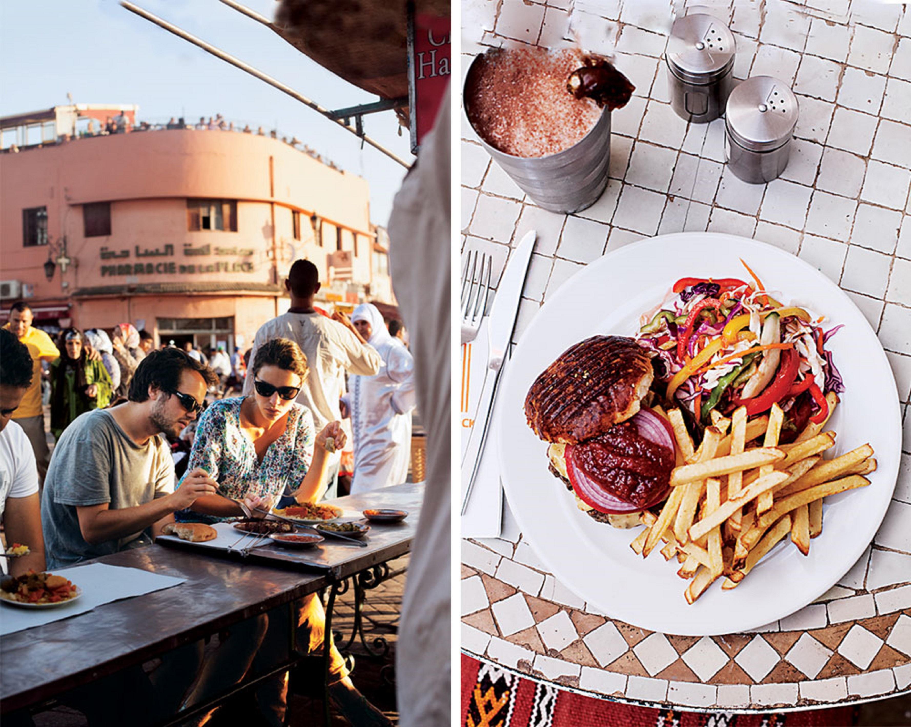Food in Marrakech