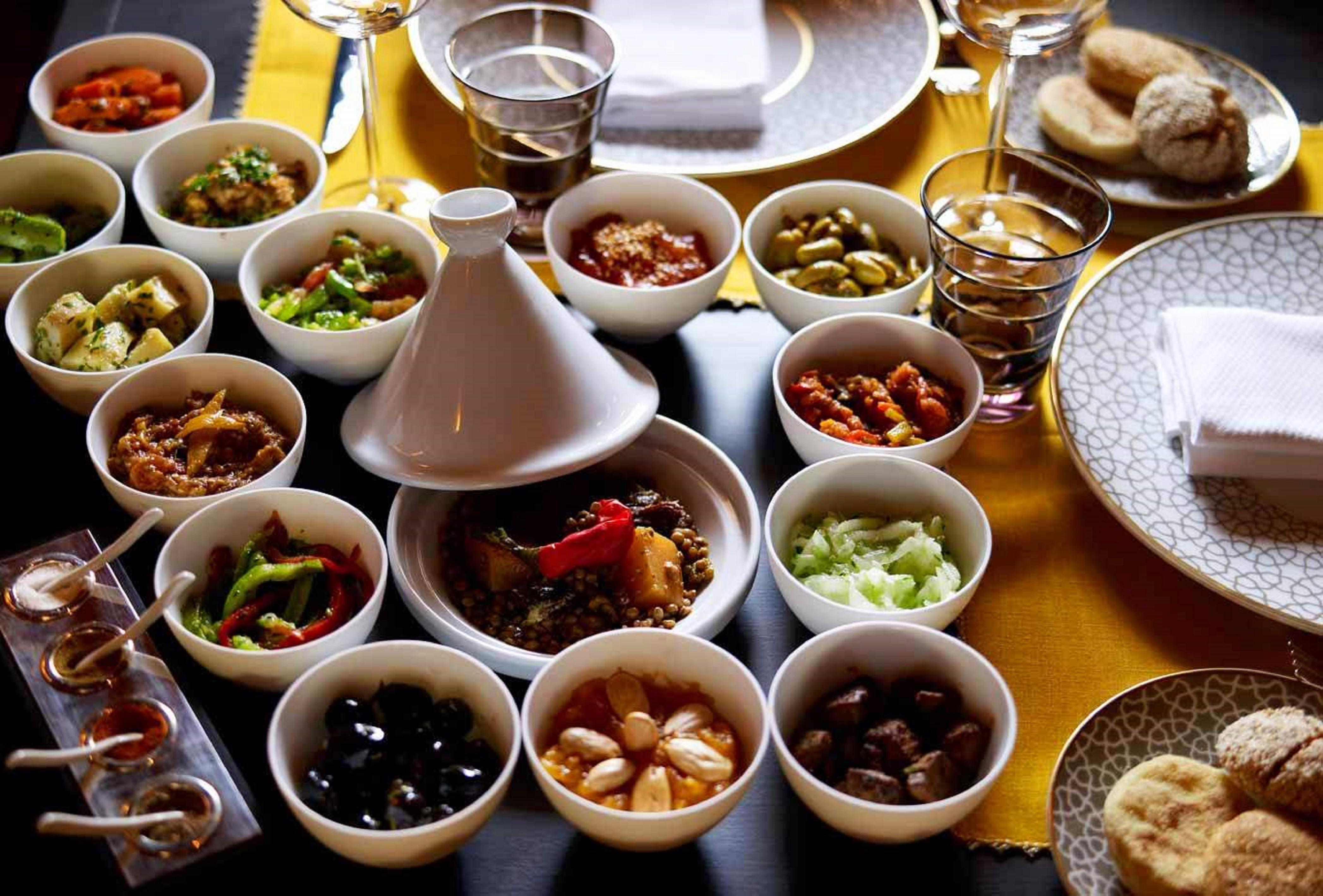 Marrakech - La Mamounia Restaurant Le Marocain 2