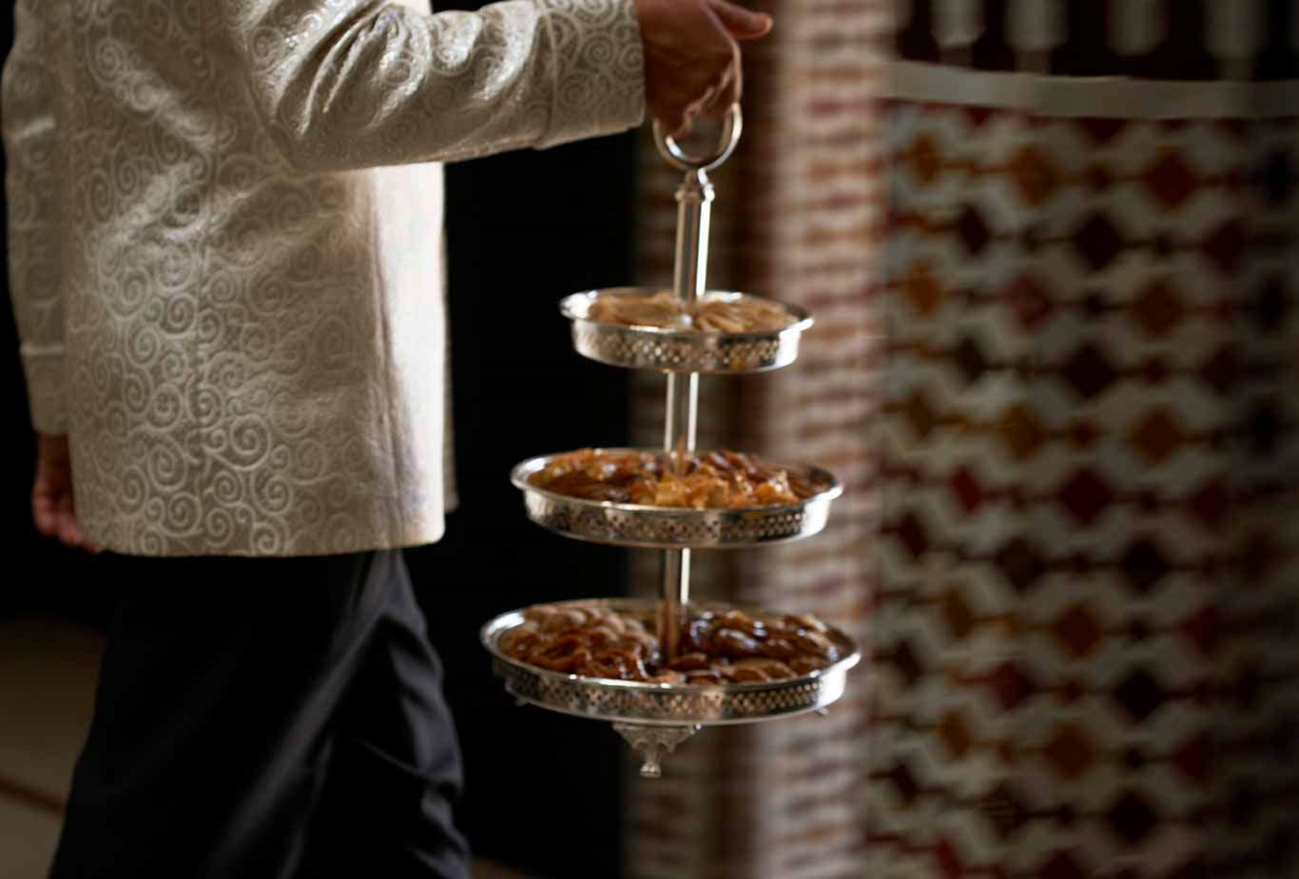 Marrakech - La Mamounia Restaurant Le Marocain 3
