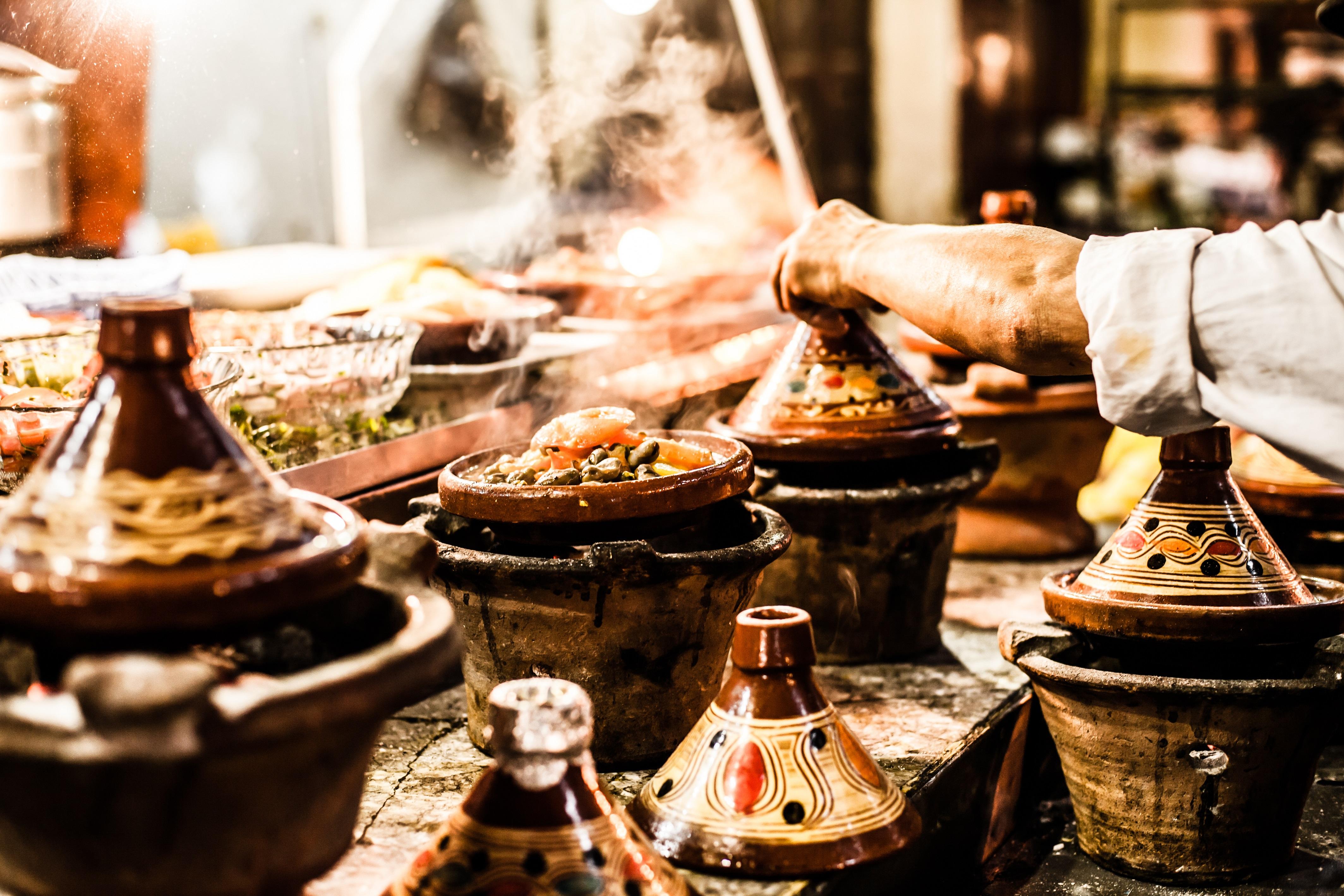 Street food in Marrakech